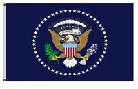 Large President of the United States Flag