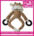 Lovely Animal Pet Show Toy Stuffed Dog Chew Toy Wholesale