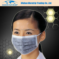 Active Carbon Fiber Face Mask High Protection Fluid Resistant Disposable Surgical Face Mask