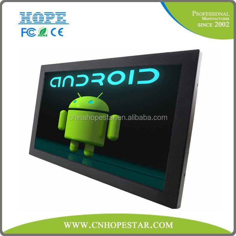 18.5 inch android all in one touch screen monitor wifi