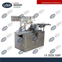 Electrical Automatic cigarettes cellophane wrapping machine