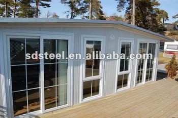 CE&ISO prefabricated steel house