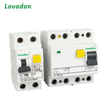 IEC 61008 AC A Type 4P LF7 RCCB RCBO 40 Amps Residual Current Device / Circuit Breaker