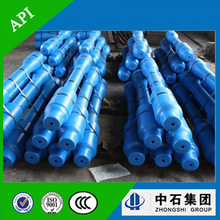 integral spiral blade string drilling stabilizer on oilfield for drilling hole down hole tools