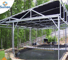 Clear hdpe plastic used sun shade sail awnings
