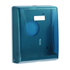 wall mount tissue paper holder plastic blue kitchen tissue holder