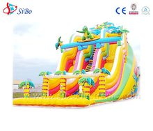 giant inflatable water slide real banzai water slides