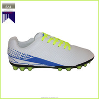 Non-slip High Elasticity PU Soccer Shoes / Football Shoes