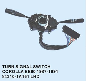 Turn signal switch for TOYOTA COROLLA EE90