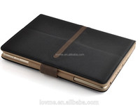 hybrid tan leather with movie stand case for ipad air 2 case cover