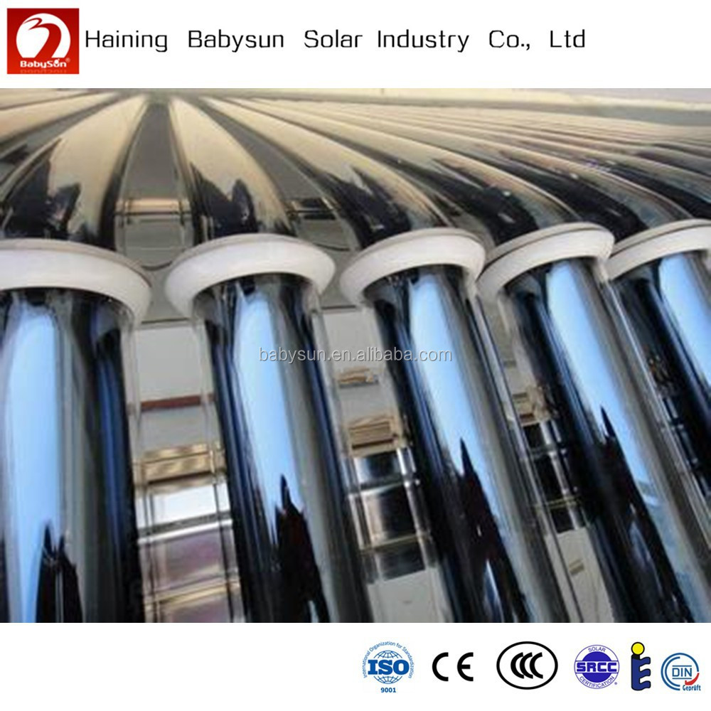 China manufacturer three layers 58mm*1800mm solar vacuum tube for solar heater, solar evacuated tube