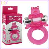 7 Model Cockring Vibe - Cute Bear Sex Products
