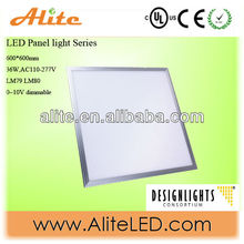 2014 85lm/w square led recessed light 60x60 cm office ceiling lamp