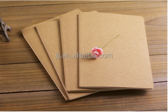 A5 notebook 250 grams of restoring ancient ways to import kraft paper cover this car line