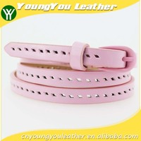 High quality dresses for women pu belt with cheap price in Yiwu