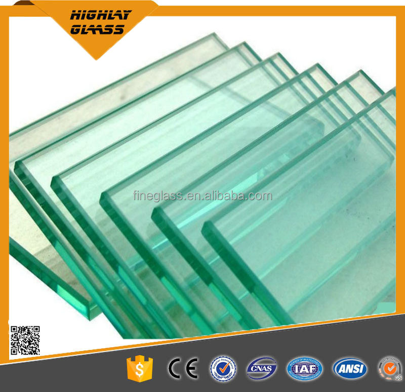 Toughened/Tempered Glass for Glass Bridge
