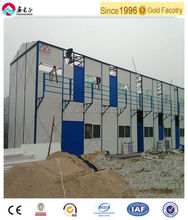 easy assembly comfortable prefabricated two storey house