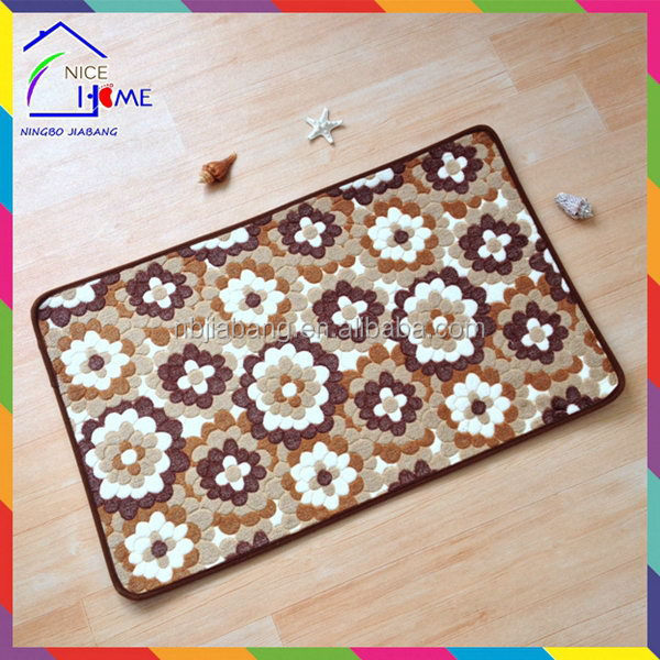 Flower modern best sell tractor floor mats