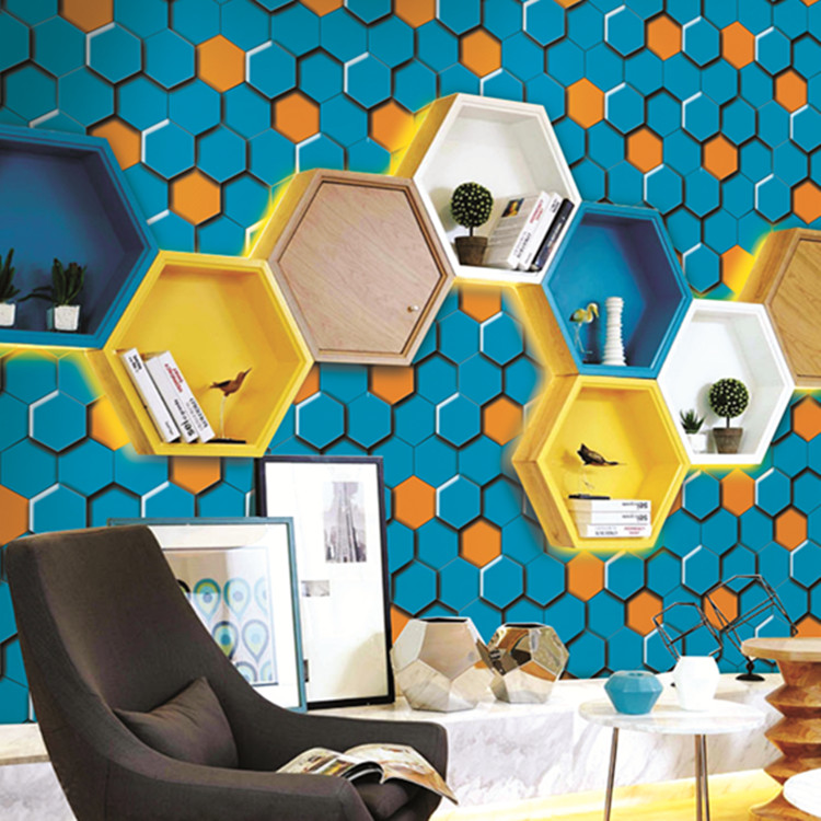 Alibaba modern 3d design wallpapers vinyl PVC wall paper