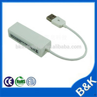 Paris market usb2.0 male to rj45 female network lan cable adapter manufacturer