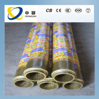 Reinforced Exhaust Pipe Concrete Pump Rubber Steel Wire Delivery Hose