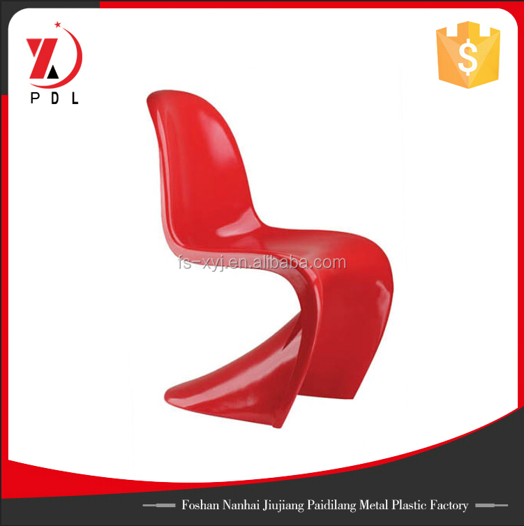 Modern dining plastic chair Verner pantone ABS chair.