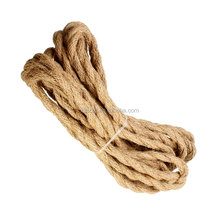 Vintage Style Hemp Rope Twisted Electric Wire Braided Electrical Cable