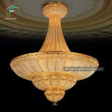 luster zhongshan crystal chandelier made in China