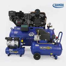Factory best price 100l 3hp belt driven air compressor