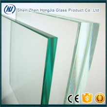 8mm thick toughened glass for glass facade