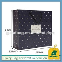Printed Christmas bag for shopping and gift exported to Europe ELE-CN0021 christmas ornament