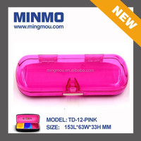 candy color plastic/pc/pp/abs/as optical case