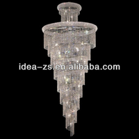 Large villa stair chandelier decorative lights for weddings