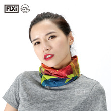 FLXi Original Microfiber Knitted Sublimation Printing Turban Head Wrap Scarf