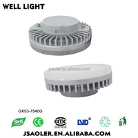 GX53-7540G 2835 smd led led magnetic cabinet light led lamp