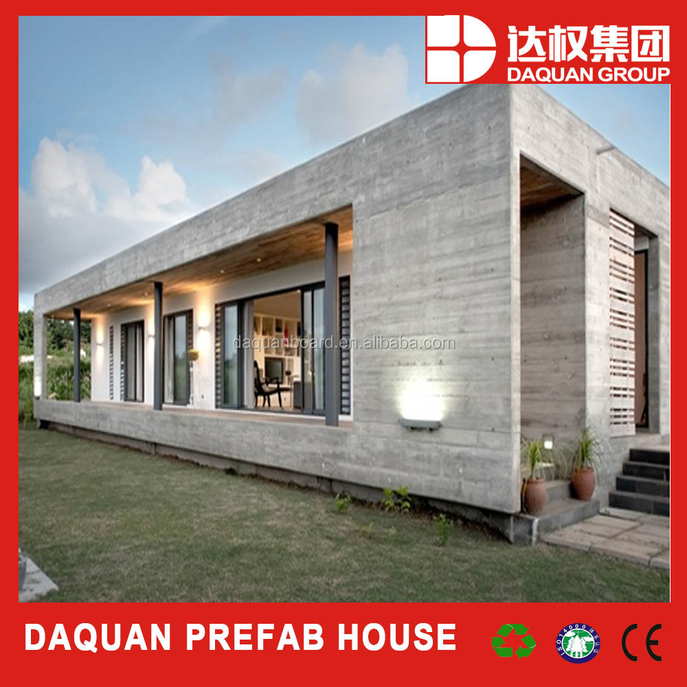 Container size foam cement prefab house