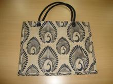 promotional jute printed bag