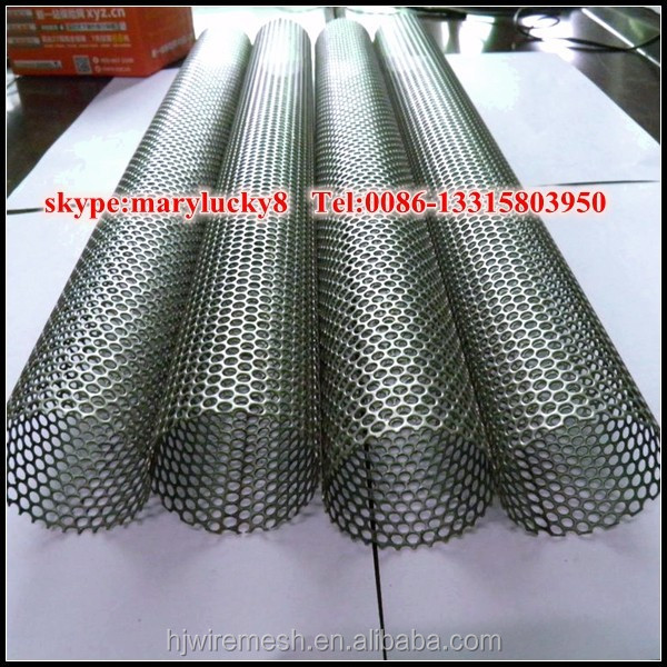 perforated steel pipe/Perforated iron pipe