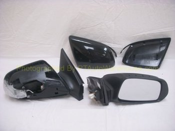 Scion tC Side Rear View Mirror, Power, Non-heated, Signal Lamp, Driver Side