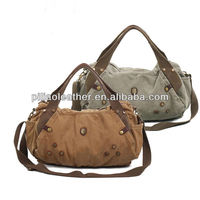 New brand 2013 canvas shoulder bag Casual fashion handbag travel Messenger Bags