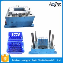 Plastic Crate Container Injection Moulds for glass bottles