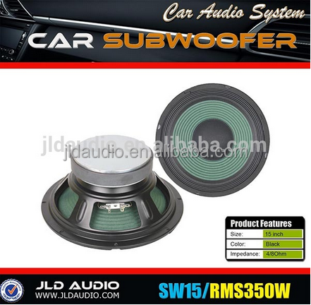 Made in China high quality 15-inch bass speakers 350w rms subwoofer driver jld subwoofer