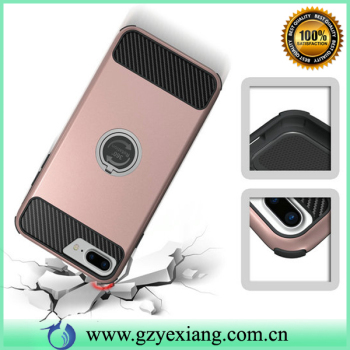 Yexiang Ring Holder phone cover case for iphone 7 plus, free sample for iphone 7 plus case