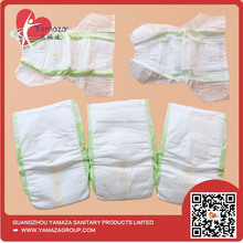 Fitted Cloth disposable thick adult baby diapers