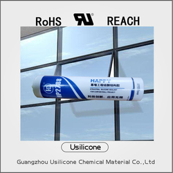 Flame Proof Neutral Liquid Silicone Sealant For Glass