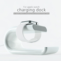 White Color U shape Portable Charger Dock For Apple Watch