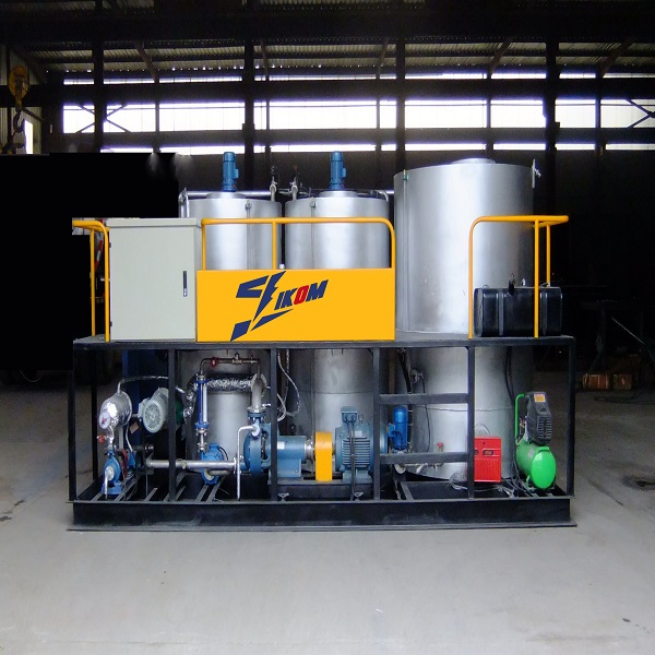 Emulsion modified asphalt plant equipment