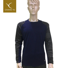 New arrival new fashion knit longsleeves men's good-looking t-shirt, dropshipping t-shirt for men