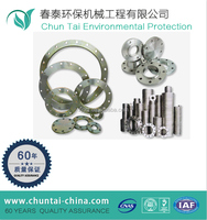Forging CNC machining ss pipe rtj flange dimensions