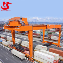 Rail Mounted Container Gantry Cranes For Sale